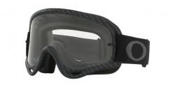 Gogle Oakley OO 7029 O-FRAME MX 702952  MATTE BLACK clear