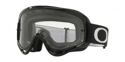 Gogle Oakley OO 7029 O-FRAME MX 702953  JET BLACK clear