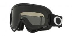 Gogle Oakley OO 7029 O-FRAME MX 702956  JET BLACK dark grey