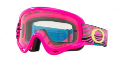 Gogle Oakley OO 7030 XS O-FRAME MX 703017  WIND TUNNEL PINK clear