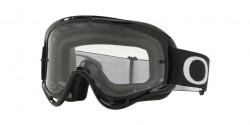 Gogle Oakley OO 7030 XS O-FRAME MX 703019  JET BLACK clear