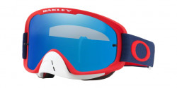 Gogle Oakley OO 7068 O FRAME 2.0 MX 706826  RED NAVY  black ice iridium & clear