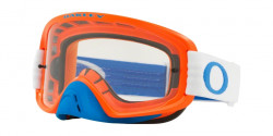 Gogle Oakley OO 7068 O FRAME 2.0 MX 706836  BLUE ORANGE  clear