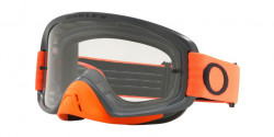 Gogle Oakley OO 7068 O FRAME 2.0 MX 706837  GUNMETAL ORANGE  clear