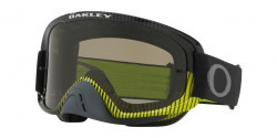 Gogle Oakley OO 7068 O FRAME 2.0 MX 706839  FREQUENCY GUNMETAL GREEN dark grey