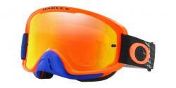 Gogle Oakley OO 7068 O FRAME 2.0 MX 706841  DISSOLVE ORANGE BLUE  fire iridium