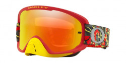 Gogle Oakley OO 7068 O FRAME 2.0 MX 706842  CAMO VINE NIGHT RED YELLOW  fire iridium