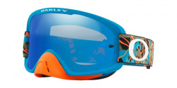 Gogle Oakley OO 7068 O FRAME 2.0 MX 706843  CAMO VINE JUNGLE BLUE ORANGE black ice iridium