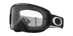 Gogle Oakley OO 7068 O FRAME 2.0 MX 706844  MATTE BLACK  clear