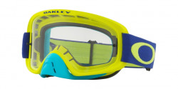 Gogle Oakley OO 7068 O FRAME 2.0 MX 706846  FLO LIME BLUE clear