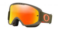 Gogle Oakley OO 7108 O-FRAME 2.0 MTB 710803  DARK BRUSH ORANGE  fire iridium