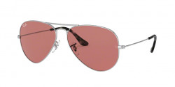 Ray-Ban RB 3025 AVIATOR 003/4R  SILVER photochromic violet