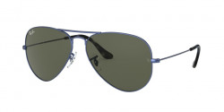 Ray-Ban RB 3025 AVIATOR 918731  SAND TRASPARENT BLU green