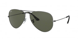 Ray-Ban RB 3025 AVIATOR 919031  SAND TRASPARENT GREY  green
