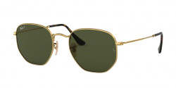 Ray-Ban RB 3548 N HEXAGONAL 001/58  GOLD green polar