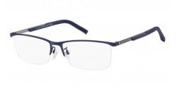 Tommy Hilfiger TH 1700 F  KU0 MATTE BLUE / RUTHENIUM