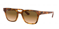 Ray-Ban RB 4323  647551  YELLOW LIGHT HAVANA clear gradient brown