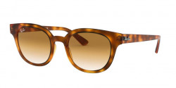 Ray-Ban RB 4324  647551  YELLOW LIGHT HAVANA clear gradient brown