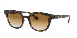Ray-Ban RB 4324  710/51  HAVANA clear gradient brown
