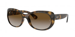 Ray-Ban RB 4325  710/T5  HAVANA light grey gradient brown