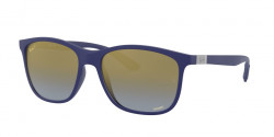 Ray-Ban RB 4330 CH CHROMANCE 6015J0  SAND BLUE  blue mir gold gradient polar