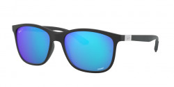 Ray-Ban RB 4330 CH CHROMANCE 601SA1  SAND BLACK green mir blue polar