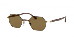 Ray-Ban RB 8061  155/73  LIGHT BROWN dark brown