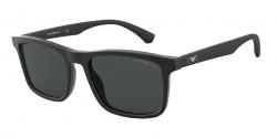 Emporio Armani EA 4137   504287  MATTE BLACK grey