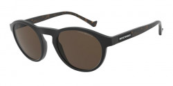 Emporio Armani EA 4138   501773  MATTE BLACK brown