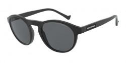 Emporio Armani EA 4138   504287  MATTE BLACK grey