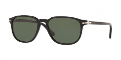 Persol PO 3019 S 95/58  BLACK  crystal green polarized