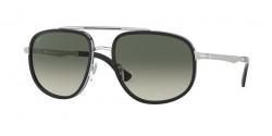 Persol PO 2465 S  518/71  SILVER/BLACK grey gradient dark grey