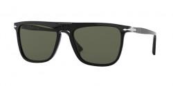 Persol PO 3225 S  95/31  BLACK green