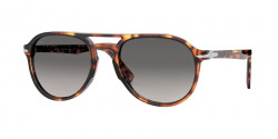 Persol PO 3235 S  1102M3  TORTOISE HONEY grey gradient dark grey polar
