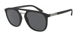 Giorgio Armani AR 8118  504281  MATTE BLACK polar grey