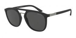 Giorgio Armani AR 8118  500187  MATTE BLACK grey