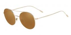 Giorgio Armani AR 6050 30136H  PALE GOLD brown mirror gold