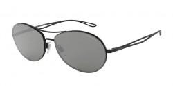 Giorgio Armani AR 6099  30016G  MATTE BLACK grey mirror silver