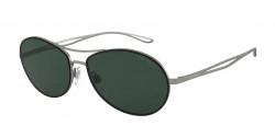Giorgio Armani AR 6099  300371  MATTE GUNMETAL green