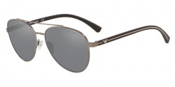 Emporio Armani EA 2079   30036G  MATTE GUNMETAL light grey mirror black