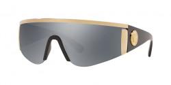 Versace VE 2197  12526G PALE GOLD grey mirror black