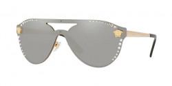 Versace VE 2161 B 10026G GOLD light grey mirror silver