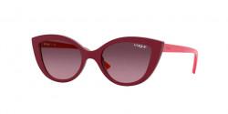 Vogue Eyewear Kids VJ 2003  27768D  BORDEAUX light pink gradient pink