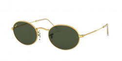 Ray-Ban RB 3547 OVAL 919631  GOLD LEGEND green