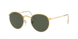 Ray-Ban RB 3447 ROUND METAL 919631  LEGEND GOLD green