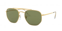 Ray-Ban RB 3648 THE MARSHAL 001/4E  GOLD bottle green