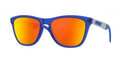 Oakley OO 9428 FROGSKINS MIX 942813  CRYSTAL BLUE prizm ruby polarized