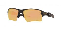 Oakley OO 9188 FLAK 2.0 XL 9188B3  MATTE BLACK prizm rose gold polarized