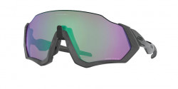 Oakley OO 9401 FLIGHT JACKET 940115  MATTE STEEL prizm road jade