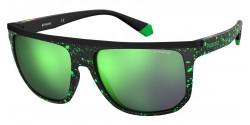Polaroid PLD 7033/S  8HC/5Z  BLACK/GREEN polar grey mirror green